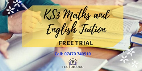 FREE KS3 Maths and English Trial  tickets
