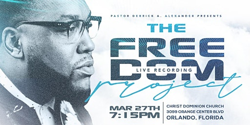 "Derrick Alexander ""THE FREEDOM PROJECT"" Live Recording"