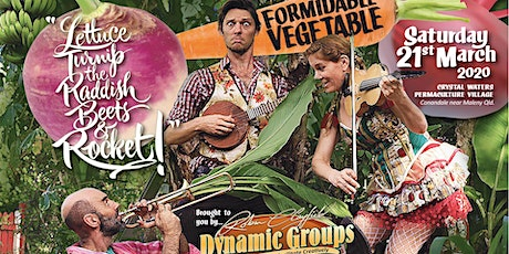 Formidable Vegetable Concert at Crystal Waters tickets