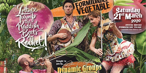 Formidable Vegetable Concert at Crystal Waters