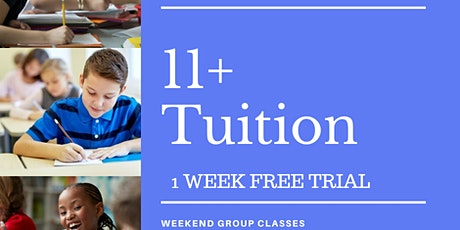 Free 11+ Tuition - Year 5 Students tickets