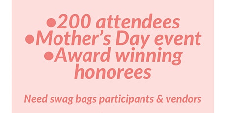 Vendors/Swag Bag - The Pink Brunch tickets