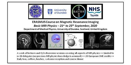 Erasmus Course on Basic MR Physics – University of Dundee 2020 tickets