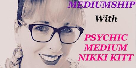 Evening of Medium with Nikki Kitt - Poole tickets