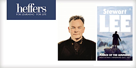 Book signing with Stewart Lee: 'March of the Lemmings' tickets