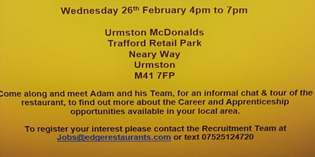 Recruitment/Careers Event tickets