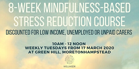 8-Week Mindfulness Stress Reduction Course  tickets