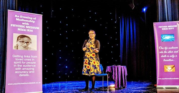 Evening of Mediumship with Nikki Kitt - Cardiff image