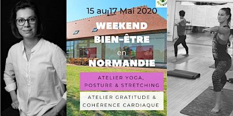 Week-end YOGA+COHÉRENCE CARDIAQUE en Normandie billets