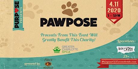 PAWpose tickets
