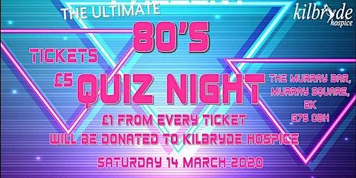 The Ultimate 80's Quiz Night