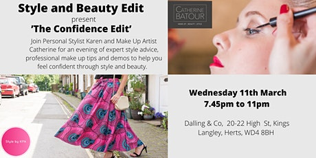'Style and Beauty Edit' present 'The Confidence Edit' tickets