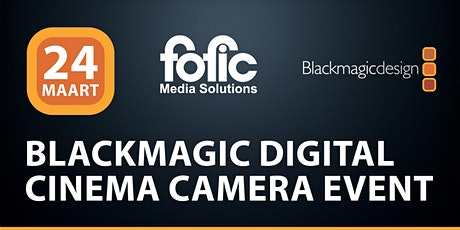 Blackmagic Digital Cinema Camera Event tickets