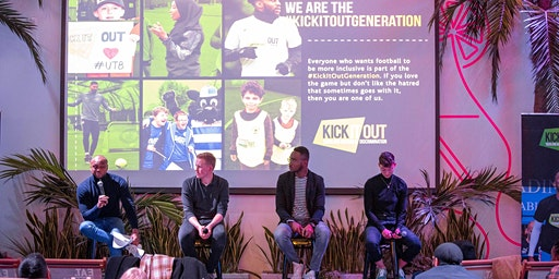 #KickItOutGeneration LIVE at the National Football Museum