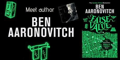 Meet author Ben Aaronovitch tickets