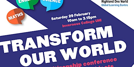 Transform Our World tickets