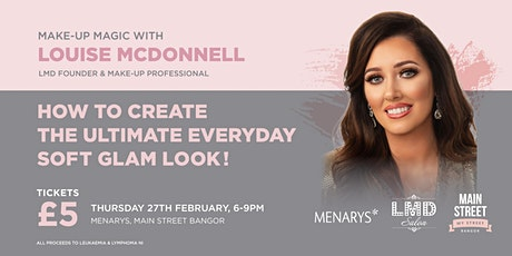 Make-Up Magic With Louise McDonnell tickets