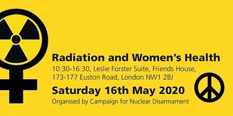 *Event postponed* Radiation and Women's Health seminar tickets