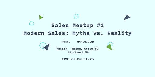 Sales Meetup #1 - Modern Sales: Myths vs. Reality