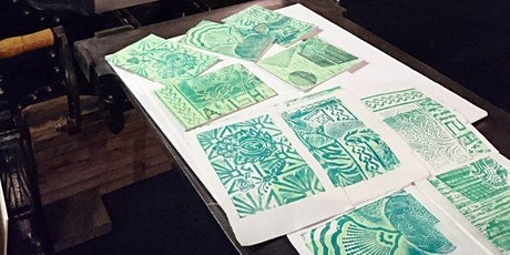 Collagraph Workshop - two days tickets