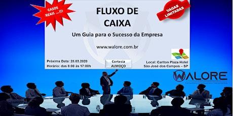 CURSO DE FLUXO DE CAIXA ingressos