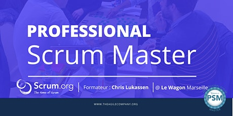 Certification Scrum Master & examen PSM-I Marseille billets