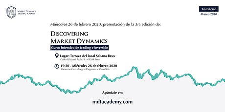 Discovering Market Dynamics tickets