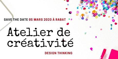 Atelier de Créativité-Workshop de Design Thinking par DI GROWTH MAROC tickets