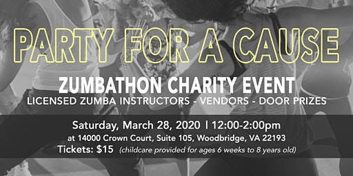 ZUMBATHON CHARITY EVENT | Benefiting the National Capital A Cinderella Ball