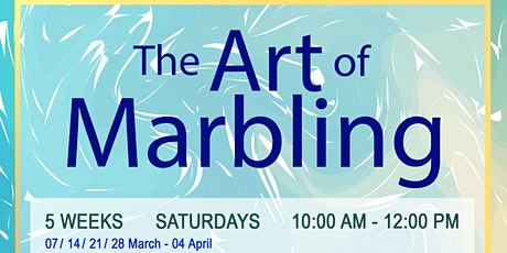 The Art of Marbling (Ebru) tickets