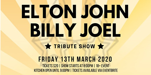 ELTON JOHN & BILLY JOEL TRIBUTE SHOW