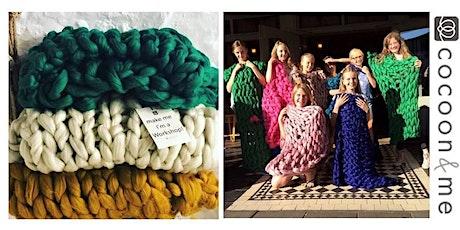 Kids Arm Knitting Blanket Workshop - London tickets