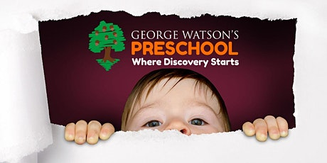 George Watson's Preschool Playdate tickets