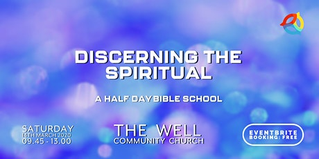 Discerning The Spiritual tickets