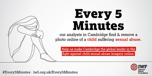 IWF 'Every 5 Minutes' Hackathon Cambridge