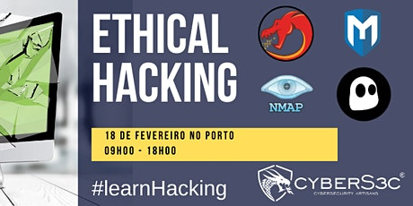 CURSO ETHICAL HACKING NO PORTO bilhetes