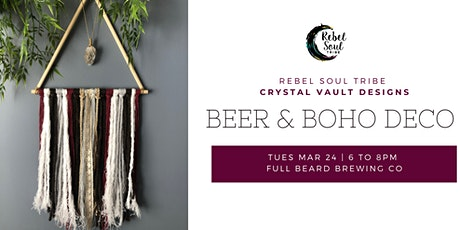 Beer & Boho Deco tickets
