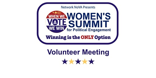 Volunteer Meeting - Women's Summit 2020