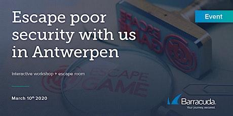 Barracuda | Escape Room - WAF  Workshop Antwerpen tickets