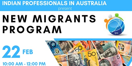 IPA New Migrant Program Feb 2020 tickets