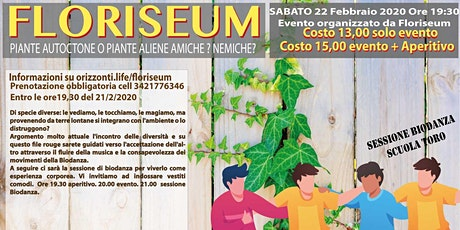 Floriseum Vita delle Piante e Biodanza billets