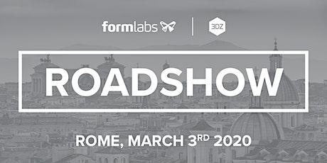 Roadshow Formlabs: Tappa a Roma biglietti