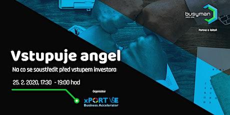 Vstupuje angel: Na co se soustředit před vstupem investora tickets