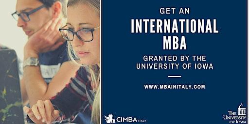 CIMBA prestenta il Master of Business Administration