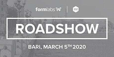 Roadshow Formlabs: Tappa a Bari biglietti