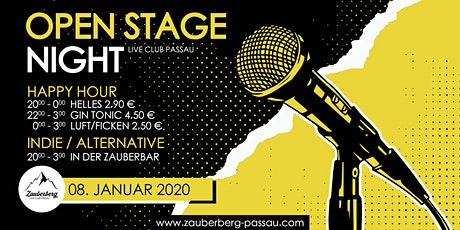 Open Stage Night • Passau Tickets