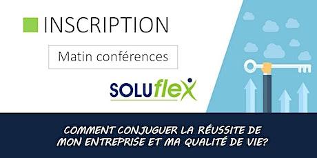 Matin conférences - Soluflex billets