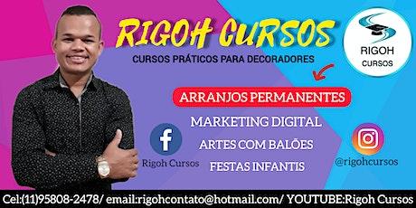 CURSO PRÁTICO DE ARRANJOS PERMANENTES C/RIGOH  ingressos
