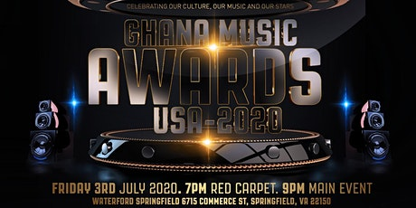 Ghana Music Awards USA 2020 tickets