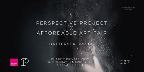Perspective Project @ Affordable Art Fair Battersea - Charity Private View tickets